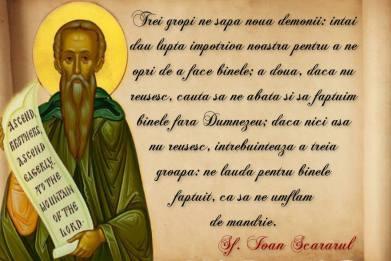 Sf Ioan Scararul-3 gropi ne sapa demonii