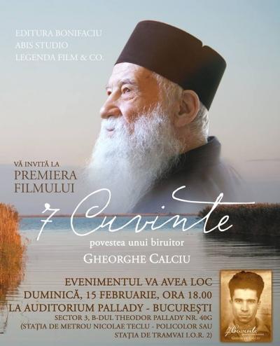 documentar Par. Gheorghe Calciu 7 cuvinte